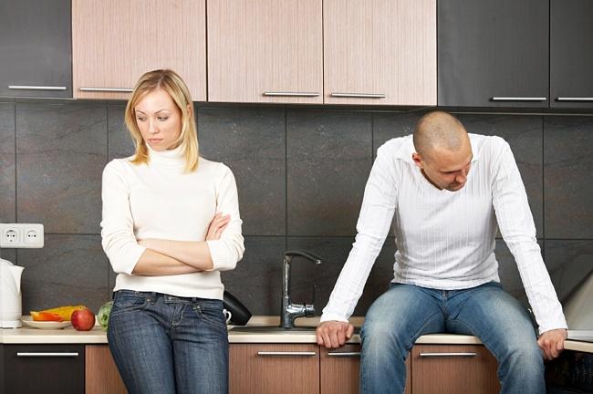 через когда надо разводиться с женой доме без отделки